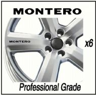 MITSUBISHI MONTERO CAR WHEEL DECALS